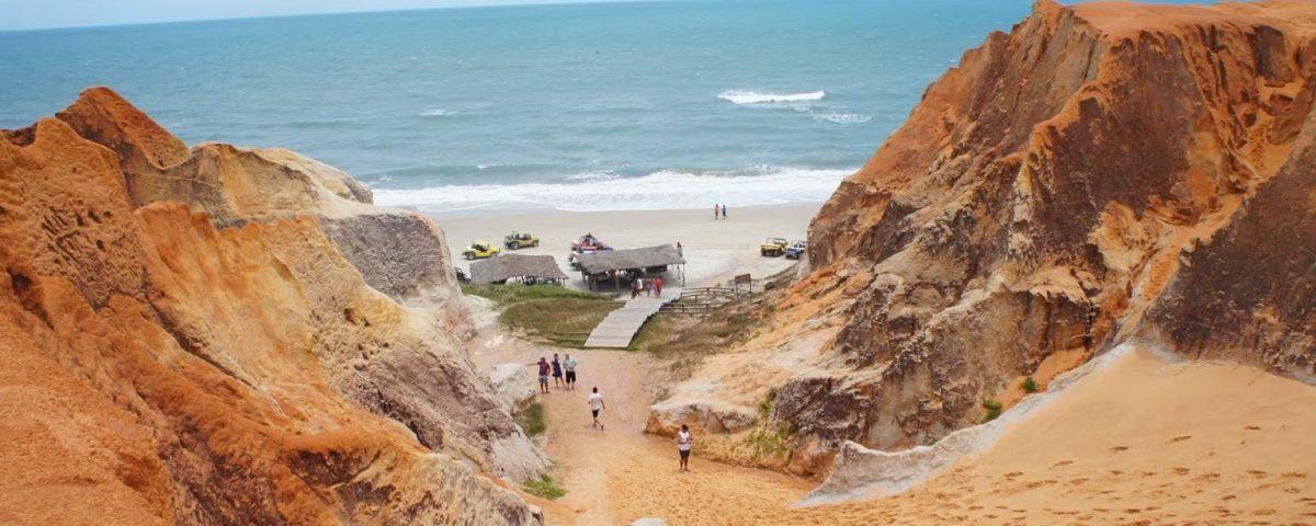 Morro Branco labirinto di sabbia la rotta delle emozioni