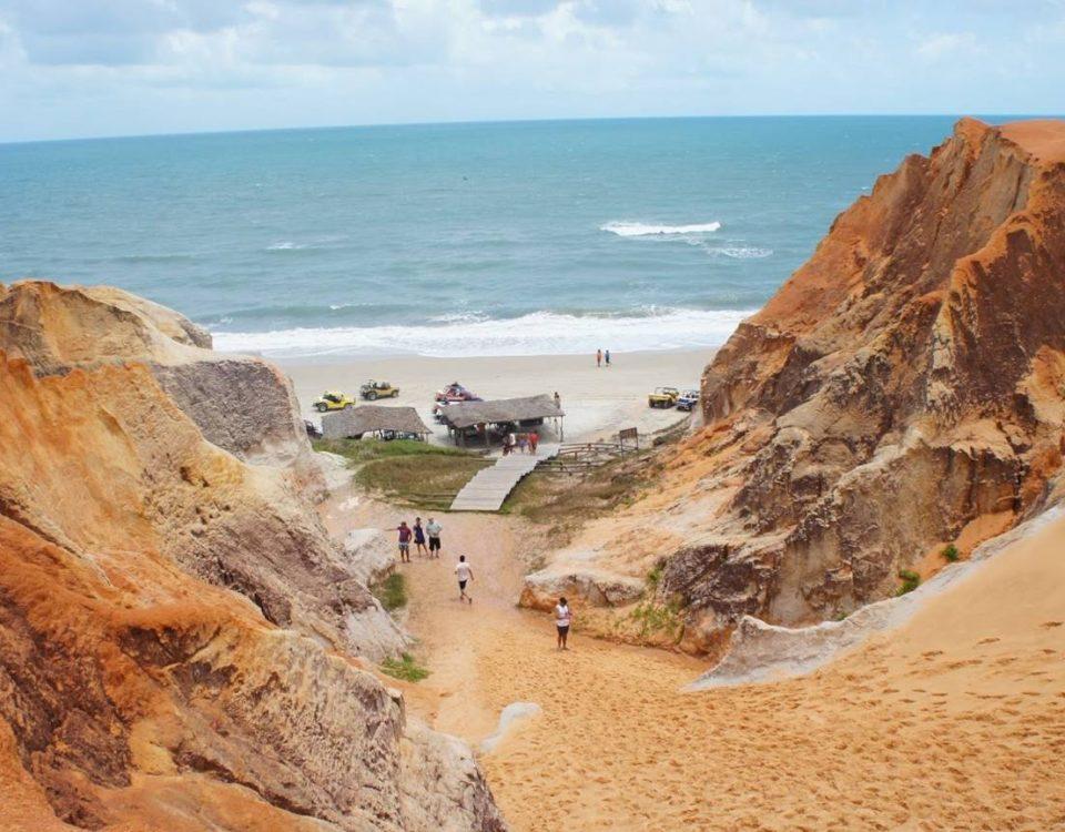 Morro Branco labirinto di sabbia