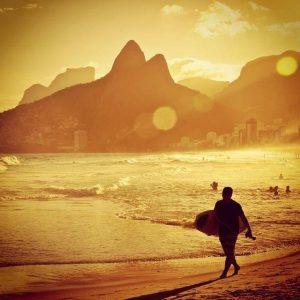 Brasile Pioggia a Rio
