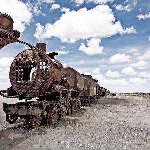 bolivia classica - cimitero dei treni la rotta delle emozioni